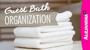 Bathroom Organizer Ideas Video Guest Bathroom Organization Ideas U0026 Tour