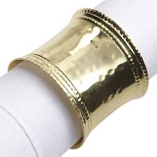 gold hammered napkin ring pier 1 imports