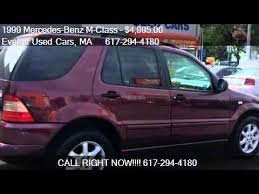 1999 mercedes ml 430 1999 mercedes m class ml430 awd 4dr suv for sale in