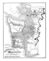 Map Of Washington State Counties by Washington Usgenweb Digital Map Library