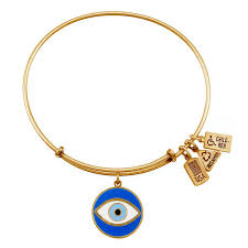 charm bracelet with evil eye images Evil eye charm bangle wind and fire jewelry jpg