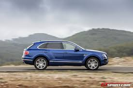 bentley suv 2017 2017 bentley bentayga diesel review gtspirit