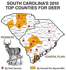 Beaufort Sc Map 2011 South Carolina Deer Forecast Game U0026 Fish