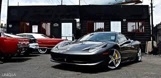 grey ferrari ferrari 458 italia grey exotic cars uniq los angeles