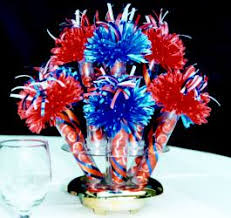 football centerpieces quinceanera centerpieces and party favors party centerpieces