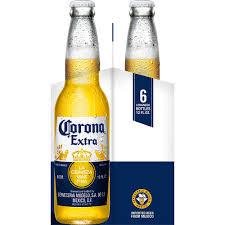 alcohol in corona vs corona light corona extra beer 6 pack 12 fl oz walmart com