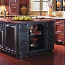 Kitchen Island With Open Shelves Kitchen Island Storage U0026 Functionality Masterbrand