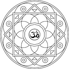 om mandala coloring pages mandala 19 mandala om jpg relax with color coloring pages