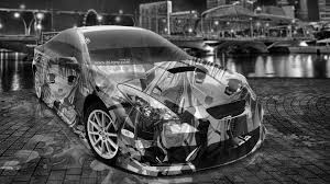 cars toyota black toyota celica jdm tuning anime aerography city energy car