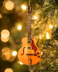 opry acoustic guitar snowman ornament official site for ryman