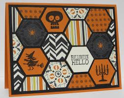 halloween card ideas punches stampbystampcreations com