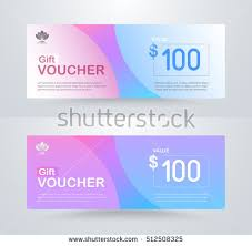 corporate gift cards corporate gift voucher template luxury gift stock vector 512508325