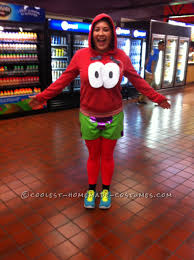 coolest homemade patrick star costumes