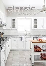 Gray And White Kitchen Cabinets 47 Best White Kitchen Ideas Images On Pinterest Kitchen Kitchen
