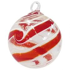 moonmarble blown glass ornaments