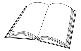 open book colouring pages free download clip art free clip art
