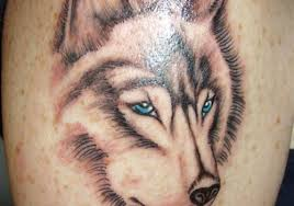 3d wolf tattoos on chest for design idea for and