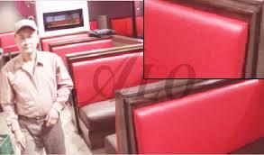 Upholstered Banquette Bench Diy Upholstering A Bench Back For