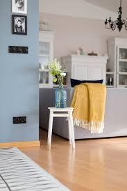 Farbgestaltung Wohn Esszimmer Eine Blaue Wand Für Das Wohnzimmer Blaue Wandfarbe Antun Und