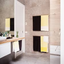 brad and dale bathroom the block country road black grid and