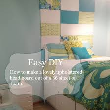 bella u0027s bedroom makeover easy diy upholstered headboard