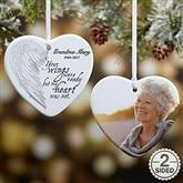 personalized memorial christmas ornaments personalizationmall com