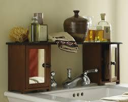 Sink Shelves Bathroom Bathroom Black Wall Mounted Bathroom Storage Cabinet With Towel