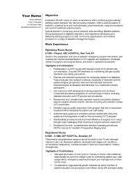 Icu Nurse Job Description Resume by Medical Surgical Nursing Resume Sample Free Resume Example And
