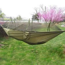 Travel Mosquito Net For Bed Selling Portable Hammock Single Person Folded Into The Pouch