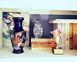 The Blue Vase Redoing The Bookcase Anne U0027s Attic U2013 Design