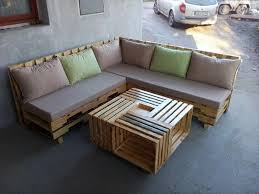 some wonderful pallet l shape sofa set pallets designs