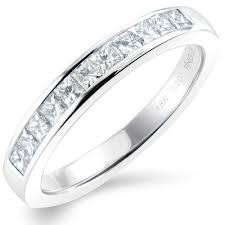 half eternity ring meaning 0 50ct princess cut half eternity ring princess cut diamond