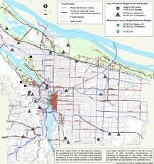 portland neighborhoods guide design vehicle national association of city transportation officials