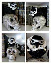 Creepy Halloween Crafts Jennuine By Rook No 17 Quoth The Raven