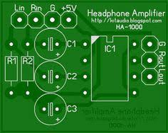 tda2822m stereo headphone amplifier pcb 1 แอมป ห ฟ ง pinterest