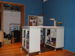 south shore crea craft table crea craft table with wheels sewing craft table on wheels by south