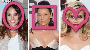 hair cuts based on face shape women best haircuts by face shape what is my face shape