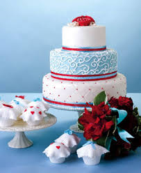 wedding in washington dc red white and blue wedding cakes the