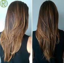 two layer haircut for girls best 25 long straight layers ideas on pinterest straight