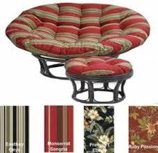 Outdoor Papasan Chair Cushion Double Papasan Cushions Foter