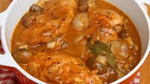 cuisiner des blancs de poulet moelleux cuisses de poulet au vin blanc moelleux