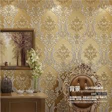Brocade Home Decor Beibehang 3d European Living Room Wallpaper Luxury Classical
