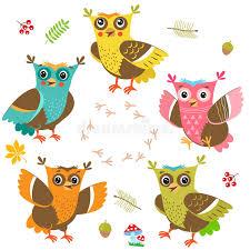 Art Owl Meme - owlet baby 陝artoon owl character set cut vector funny owl