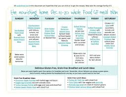 bi weekly whole food meal plan for december 7 u201320 u2014 the better mom