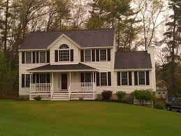 colonial front porch designs partial farmer s porch with front door bump out