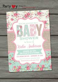 burlap baby shower invitations christmanista com