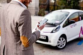 mitsubishi electric car madrid with the electric new prestige electric car