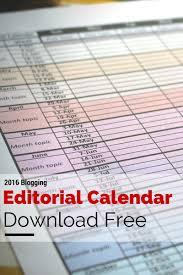 free 2016 editorial calendar scraps of my geek life