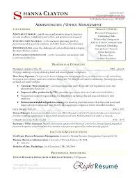 right resume format business administration resume format operations manager sample