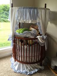 Round Convertible Crib by Round Crib With Canopy Creative Ideas Of Baby Cribs